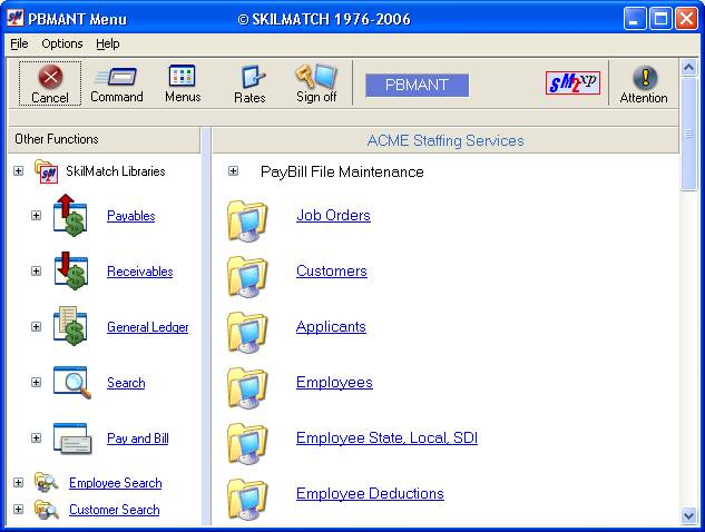 skilmatch pbmant pbmant20 timesheet availability codes